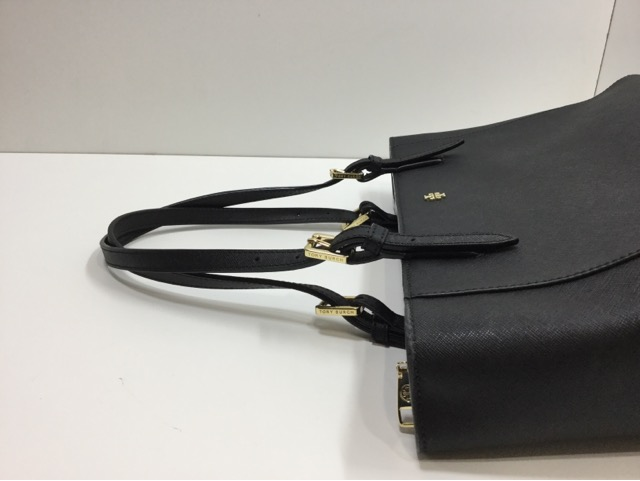 TORY BURCH SMALL BUCKLE TOTE (トリーバーチ バッグ スモール バックル トート )の持ち手の作成・交換が完了しました。(埼玉県所沢市S様)after04