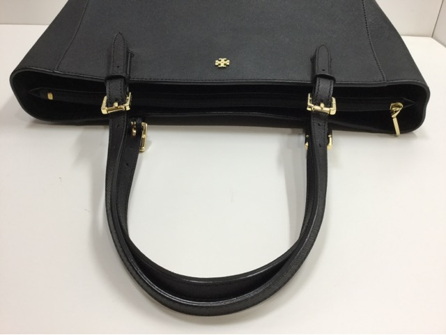 TORY BURCH SMALL BUCKLE TOTE (トリーバーチ バッグ スモール バックル トート )の持ち手の作成・交換が完了しました。(埼玉県所沢市S様)after03