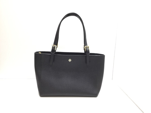 TORY BURCH SMALL BUCKLE TOTE (トリーバーチ バッグ スモール バックル トート )の持ち手の作成・交換が完了しました。(埼玉県所沢市S様)after