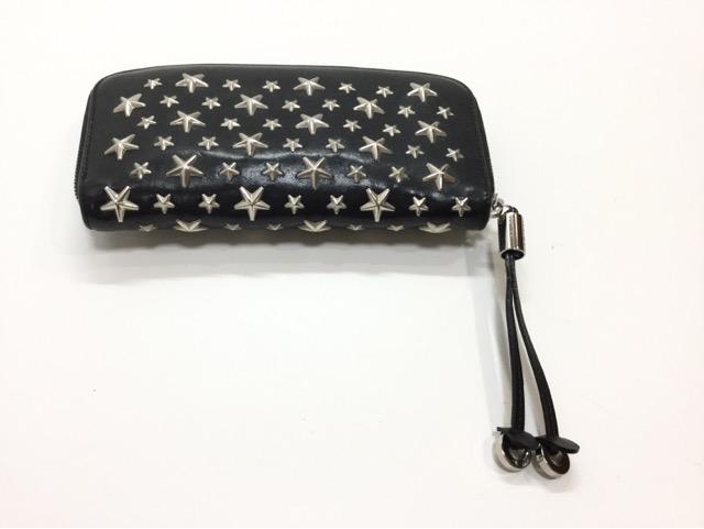 兵庫県神戸市A様より、Jimmy Choo(ジミーチュウ)のお財布の引き手作成が完了しました。 after
